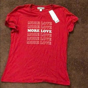 Urban Outfitters More Love tee